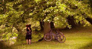 Jeunes amours romantiques