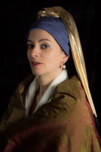 """Citation """"La jeune femme à la perle"""" (Vermeer)"""